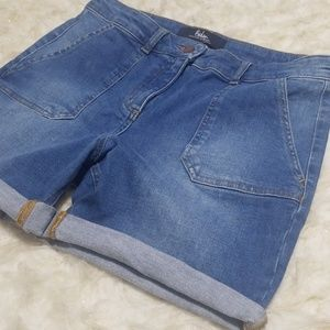 Sz 8 Shorts Denim Boden Stretch Karin